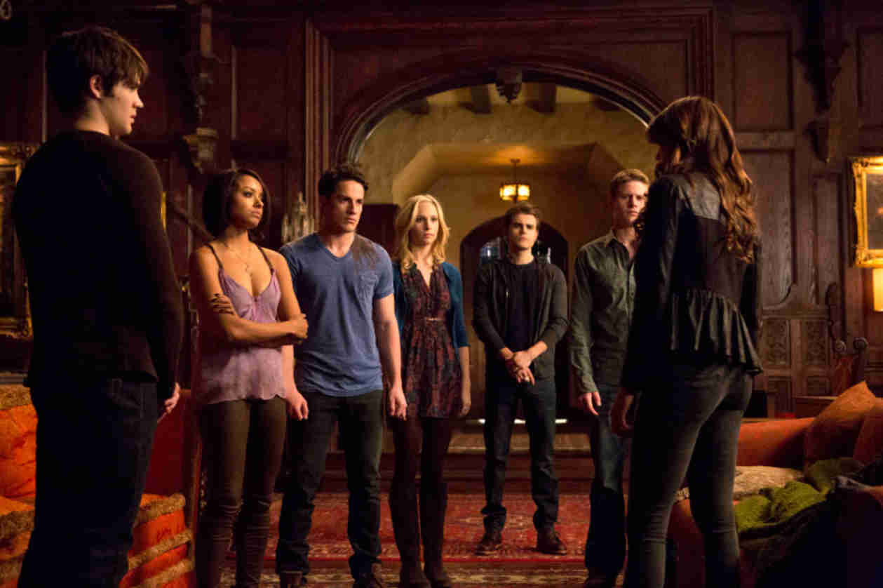 Vampire Diaries Sneak Peek: Season 5, Episode 15 — Everyone Discusses Katherine
