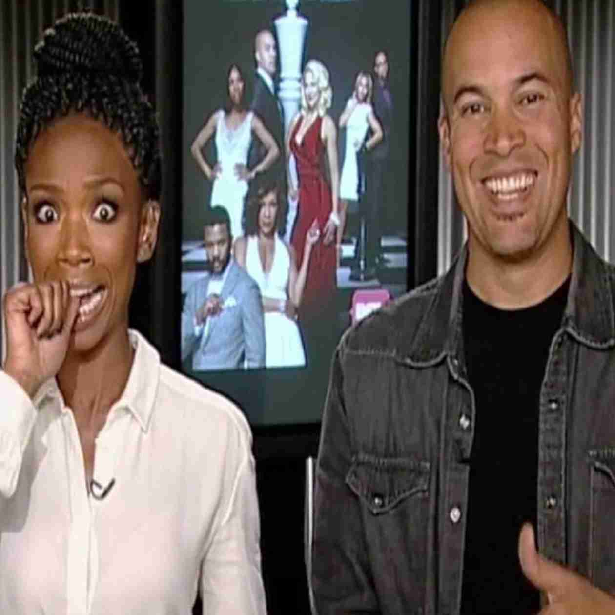 Watch Brandy and Co-Star Colby Bell Be Pranked By Howie Mandel! (VIDEO)