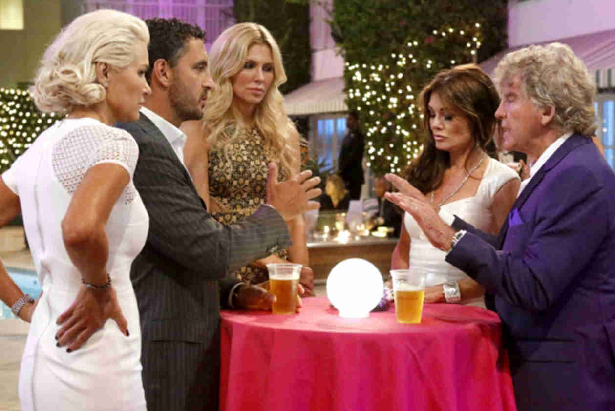 Real Housewives of Beverly Hills OMG Moments From Season 4 Finale — Brandi Tells Lisa They're Not Friends