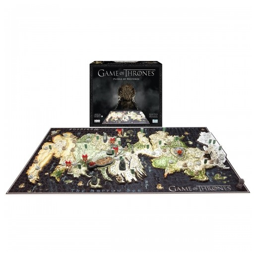 "Game of Thrones Giveaway: Win a ""4D"" Westeros Puzzle! — New Winner Announced!"