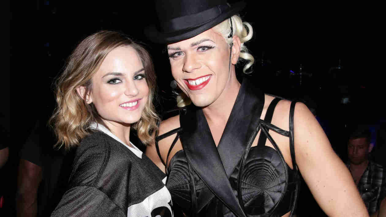 Perez Hilton Does Madonna Drag for His Star-Studded 36th Birthday Party! — Exclusive
