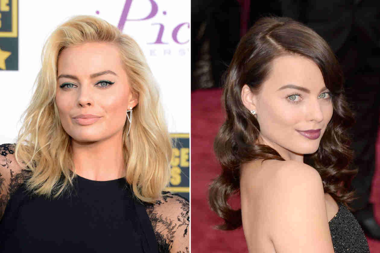 Margot Robbie at the Oscars 2014: Is She Better Brunette or Blonde? (PHOTOS)