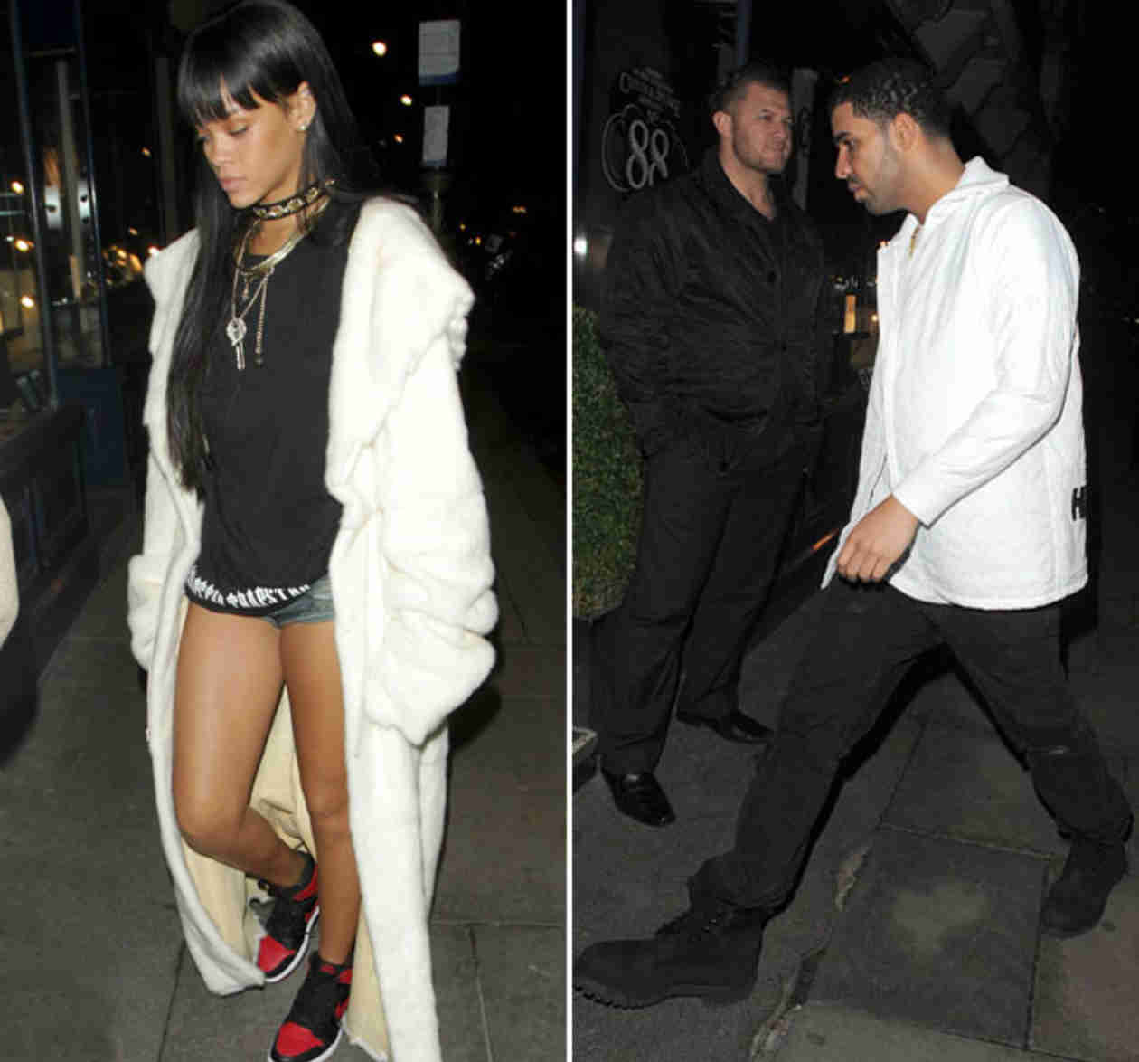 Rihanna and Drake Spotted Out at London Nightclub at 5 AM (PHOTOS)