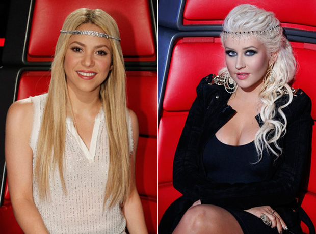 The Voice: Which Coach Is Taller — Christina Aguilera or Shakira?