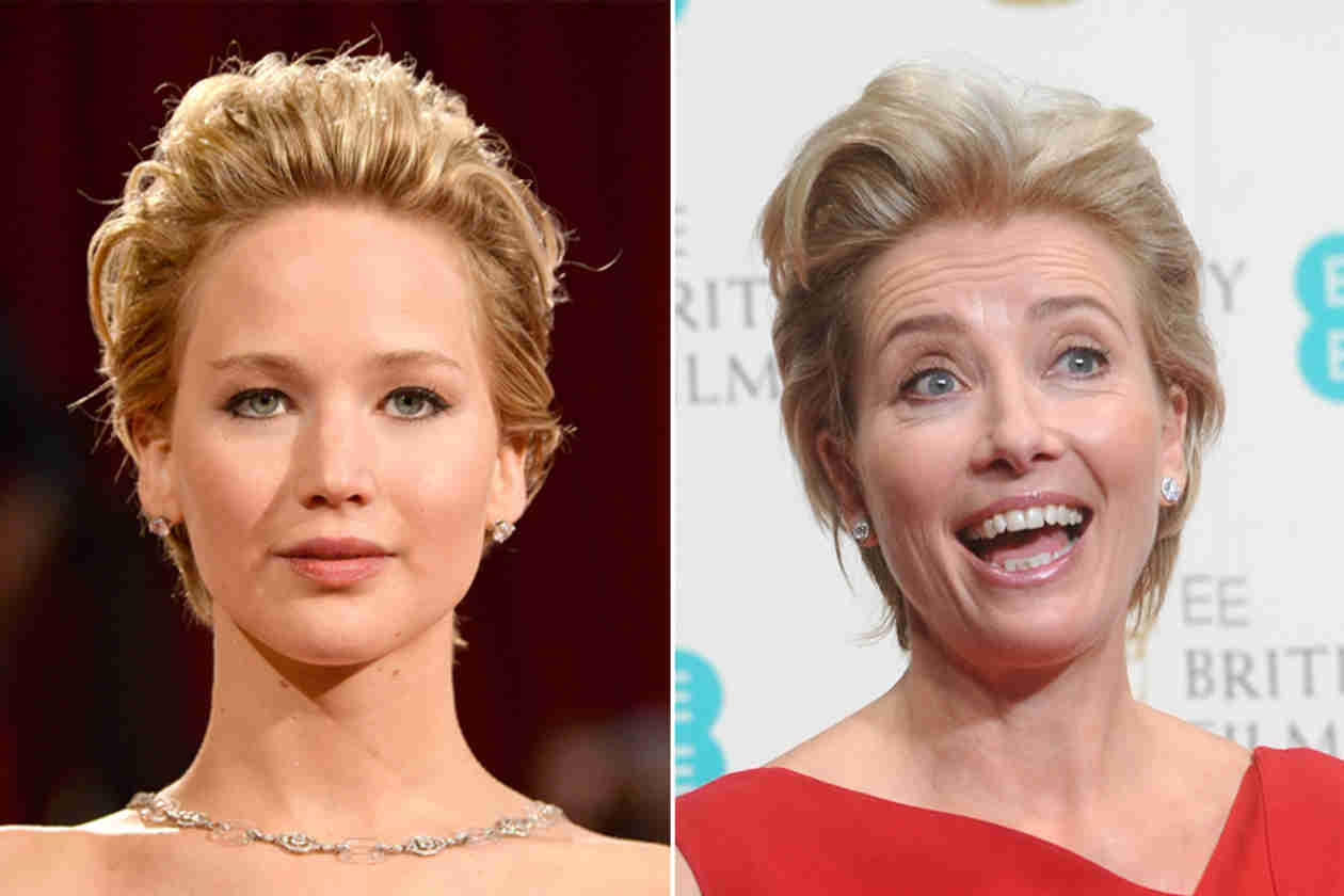 Is Jennifer Lawrence the New Emma Thompson? (PHOTOS)