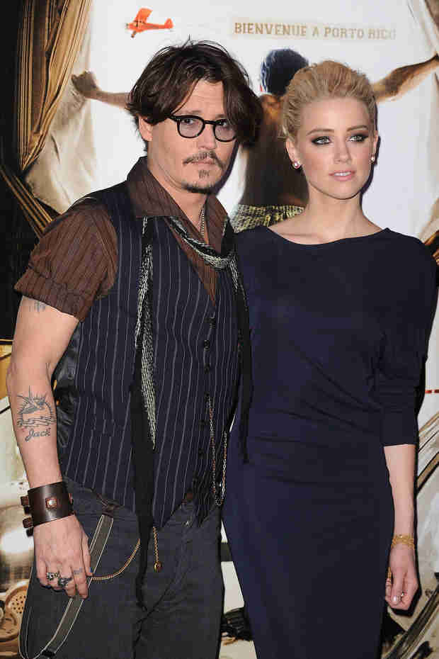 Johnny Depp's Fiancée, Amber Heard, Is Pregnant — Report (VIDEO)