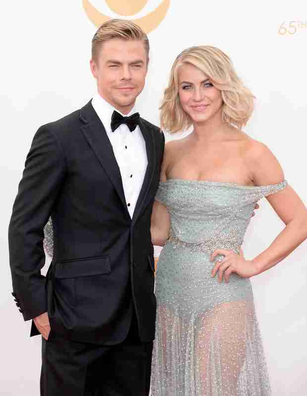"Derek Hough Defends Sister Julianne As DWTS Guest Judge: ""She Definitely Leaves Her Mark"""