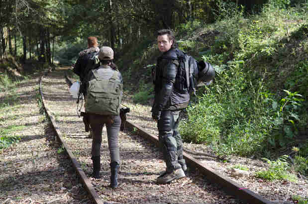 "The Walking Dead Season 5: Josh McDermitt Weighs in on the ""Train Car of Death"""