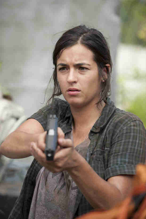 The Walking Dead Season 4: Alanna Masterson Talks Andrew Lincoln's Motivating Final Line