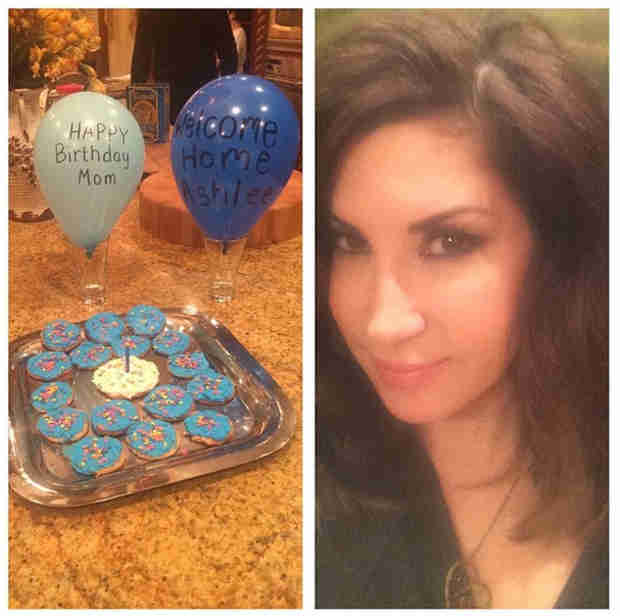 Jacqueline Laurita Celebrates Her Birthday — See Nicholas Sing to Her!