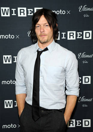 "Norman Reedus Wraps His Movie ""Air,"" Injures Toe (VIDEO)"