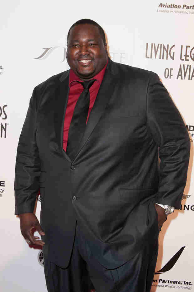 Blind Side Star Quinton Aaron Vows to Lose Weight After Being Kicked Off Flight (VIDEO)