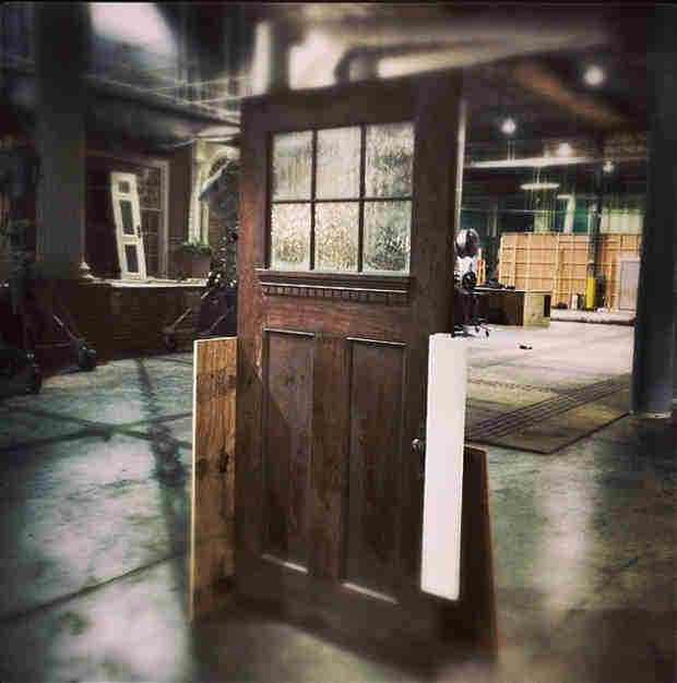 Vampire Diaries Spoilers: Where Does This Door Lead? Creepy! (PHOTO)