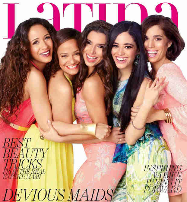 Devious Maids Cast Glows on Latina Magazine Cover (PHOTO)