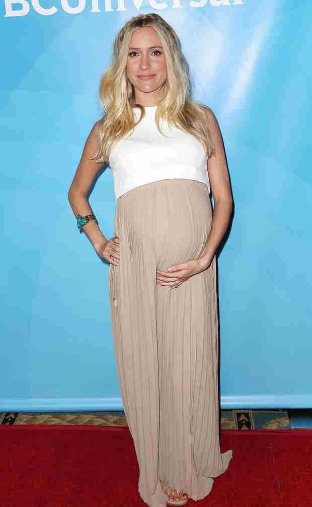 Kristin Cavallari Flaunts Huge Baby Bump at NBCUniversal's Summer Press Day (PHOTOS)