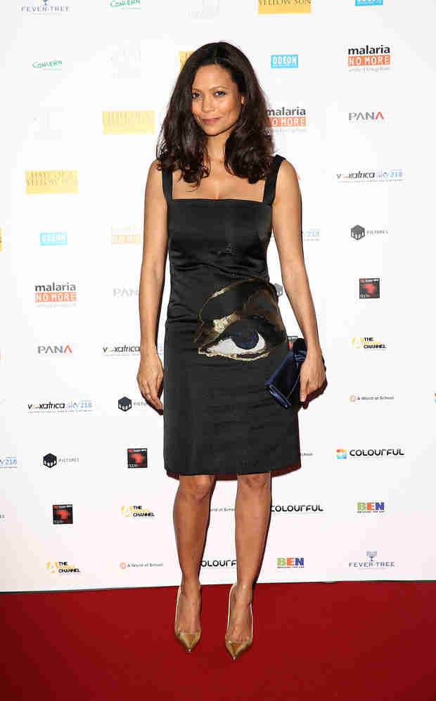 See Thandie Newton's Post-Baby Body Just Five Weeks After Birth (PHOTO)