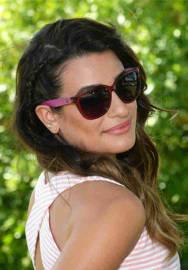 """Lea Michele Has a Nip Slip While Filming """"On My Way"""" Music Video — See the Photo!"""