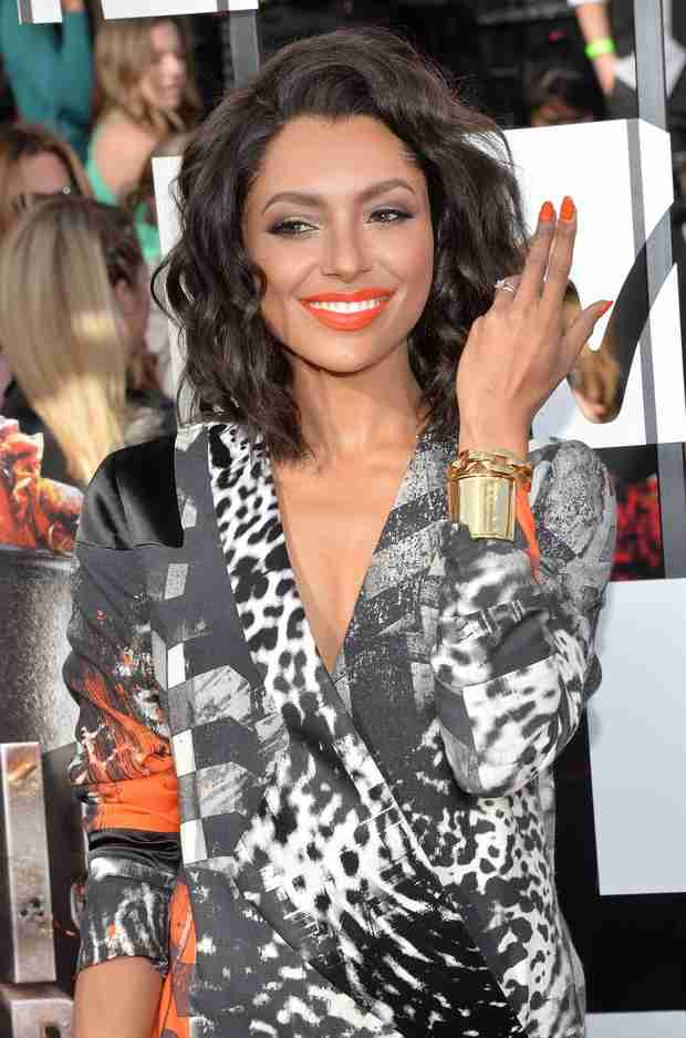 Kat Graham Shows Off Wedding Ring at MTV Movie Awards — Is She Married? (PHOTO)
