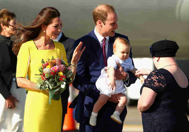 Kate Middleton Makes Fun of Prince William's Bald Spot in Sydney