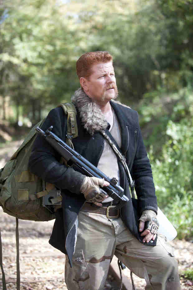 "The Walking Dead Season 5: ""Abraham Is Not a Happy Camper"""