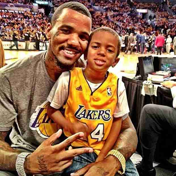 The Game Celebrates Son King Justice's Birthday at Disneyland (PHOTOS)