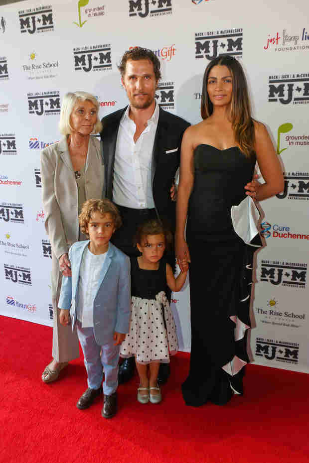 Matthew McConaughey's Family Hits the Red Carpet — See How Big His Kids Are! (PHOTO)