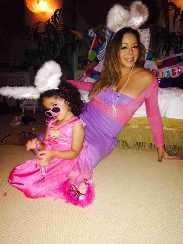 Mariah Carey Shares Adorable Easter Photos Of Family