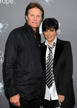Kris and Bruce Jenner Celebrate an Awkward Easter Together