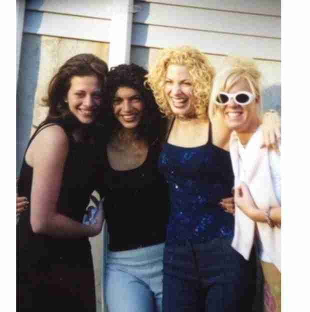 Real Housewives of New Jersey Flashback: Teresa Giudice and Dina Manzo Old-School Style (PHOTO)
