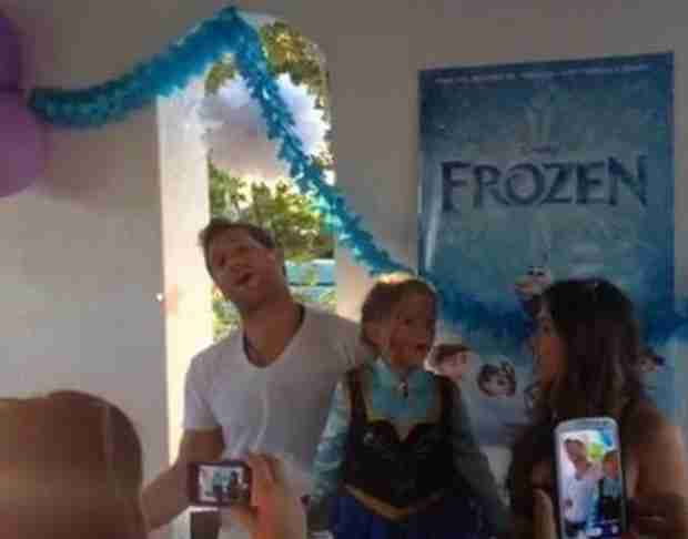 Juan Pablo Galavis Throws Frozen-Themed Party for Camila — Did Nikki Ferrell Attend?