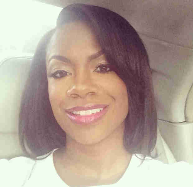 Kandi Burruss on Celebrities Undercover — See Her Transform Into an Old Woman! (PHOTO)