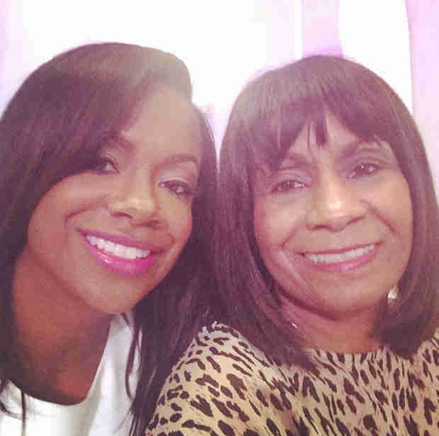 Kandi Burruss: Things Aren't Perfect with Mama Joyce, But They Are Better (VIDEO)