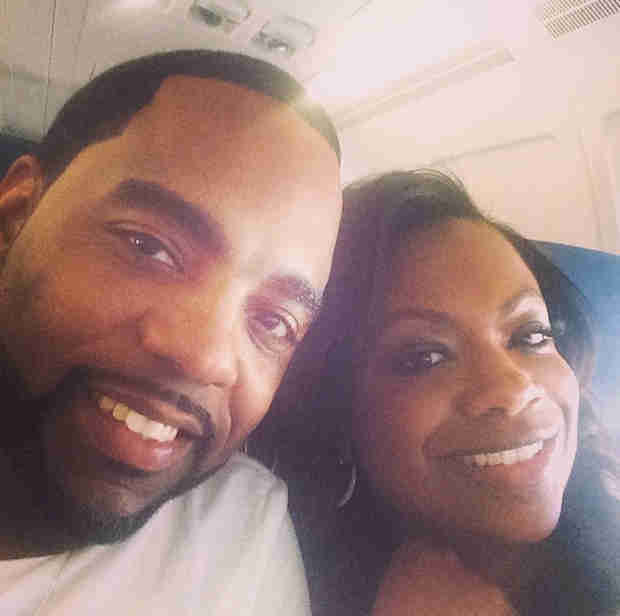 Kandi Burruss and Todd Tucker Take a Short Honeymoon — Where Are They Going? (PHOTO)