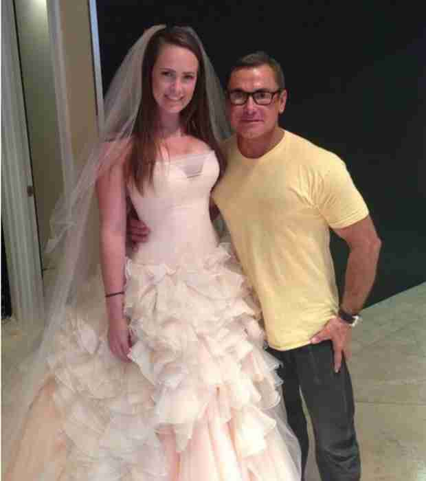 Jeana Keough's Daughter, Kara, Tries on Wedding Dresses (PHOTO)