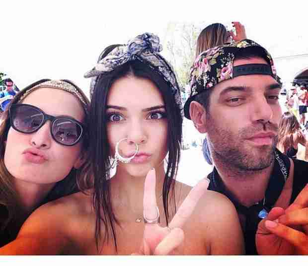 Kendall Jenner Shows Off Giant Nose Ring at Coachella — Did She Get a New Piercing? (VIDEO)