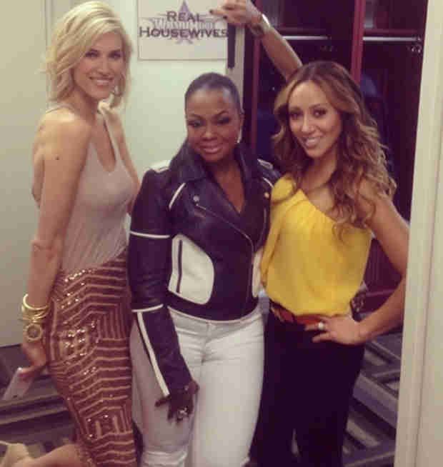 Melissa Gorga Hits Up WrestleMania With Housewives Phaedra Parks and Kristen Taekman
