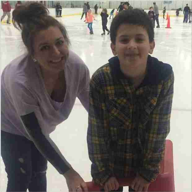 Jacqueline Laurita's Son CJ Goes Ice Skating With Lauren Manzo (PHOTO)