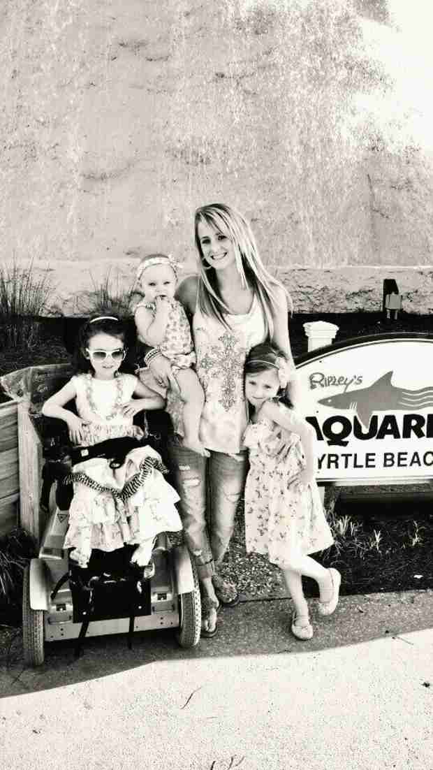 "Leah Messer Opens Up About Daughter Ali's Diagnosis: ""Why Her?"" (PHOTO)"