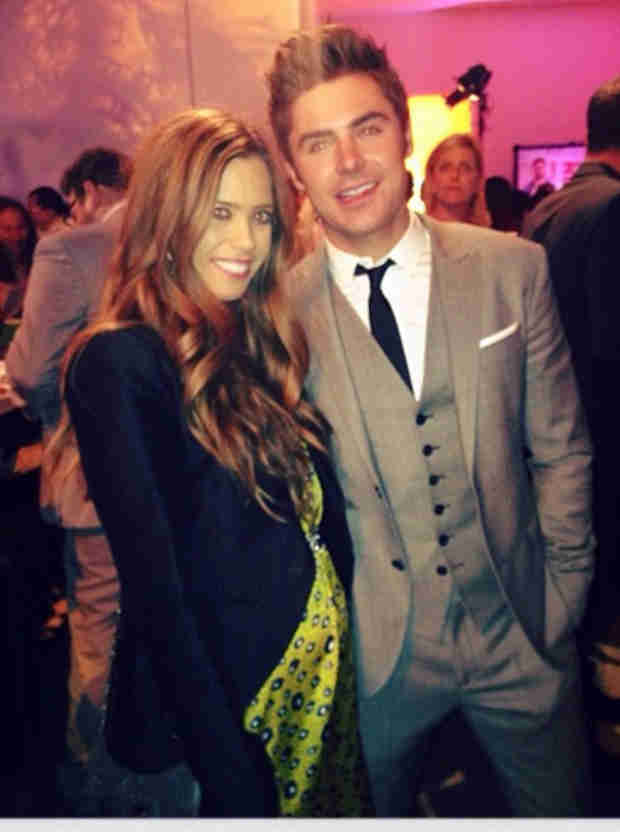 Pregnant Lydia McLaughlin Shows Off Growing Baby Bump — With Zac Efron (PHOTOS)
