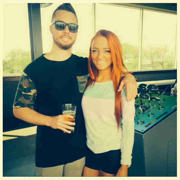 Maci Bookout Visits Taylor McKinney  — See How Cute They Are (PHOTO)