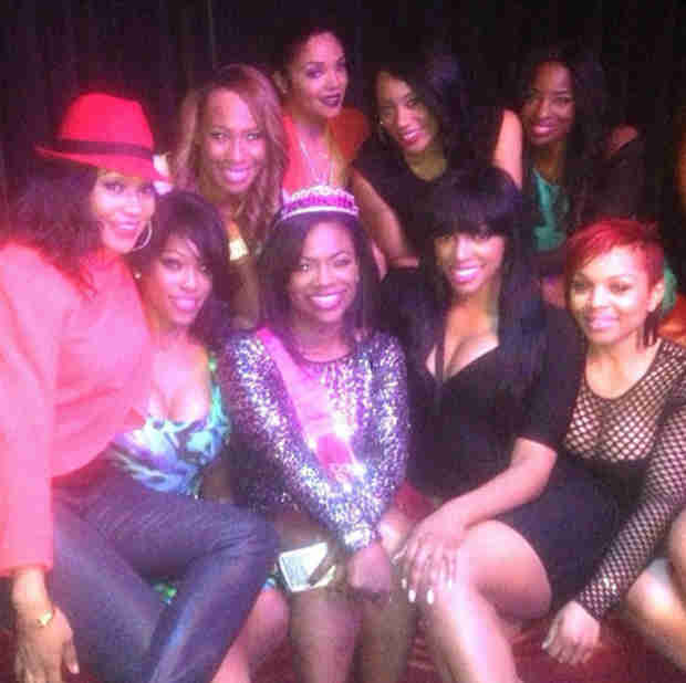 Kandi Burruss Celebrates Bachelorette Party With Phaedra Parks and Porsha Stewart (PHOTOS)