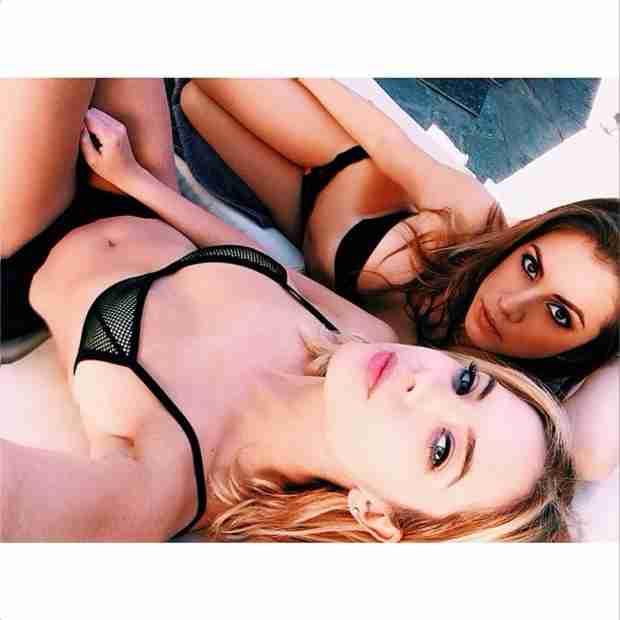 Ashley Benson Shows Off Bikini Body in Itsy Bitsy Black Bikini (PHOTO)