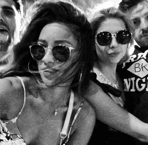 Shay Mitchell and Ashley Benson Cuddle Up to Their Boyfriends at Coachella (PHOTO)