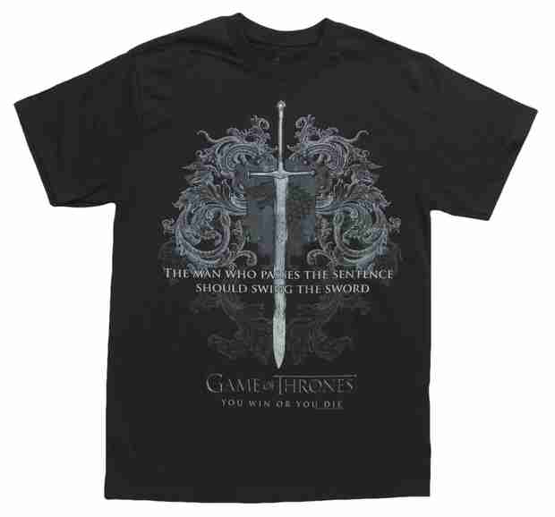 Game of Thrones Giveaway: You Win or You Die T-Shirt!