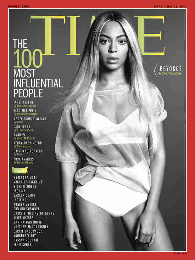 Beyoncé Covers Time's 100 Most Influential People Issue — Who Else Made the Cut? (VIDEO)