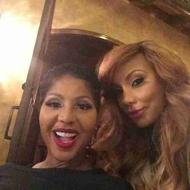Tamar and Toni Braxton Go Wig and Makeup Free!