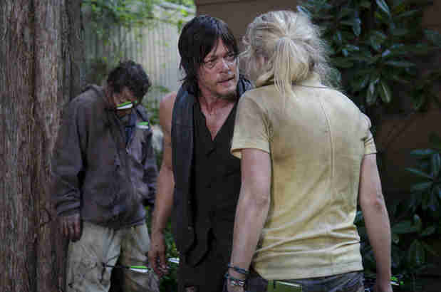 The Walking Dead Season 5: Is There a Future For Daryl and Beth?