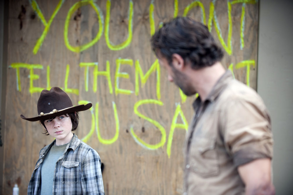 "The Walking Dead Season 5 Spoilers: Carl Grimes Will Be ""Tested"""