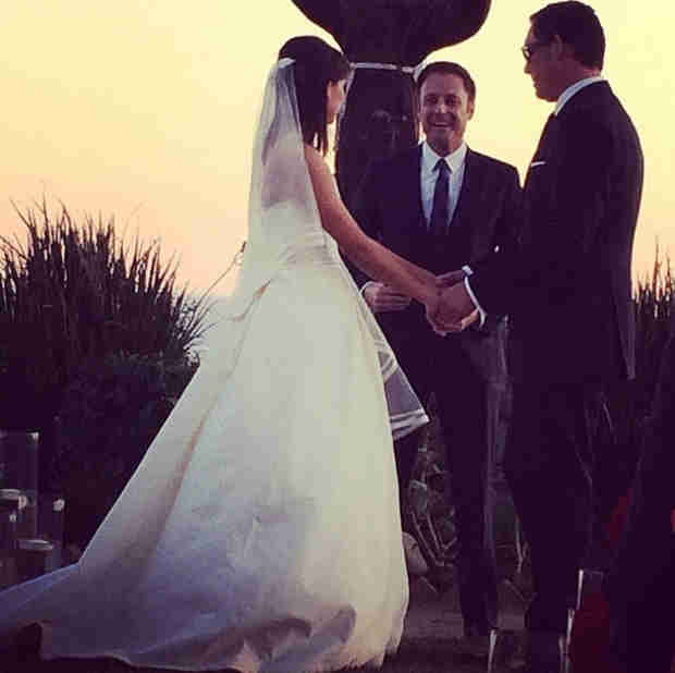 Chris Harrison Officiates Another Bachelor Wedding! Who Got Hitched?