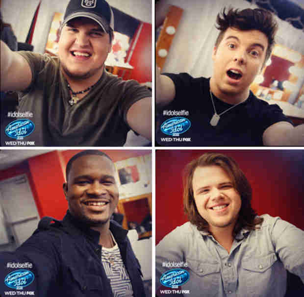 American Idol Season 13 Top 8 Take Selfies — Which Is Your Favorite?